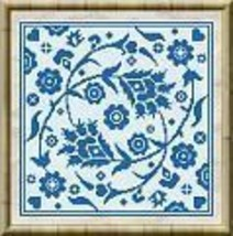 Little Blue cross stitch chart Alessandra Adelaide Needleworks - $9.50