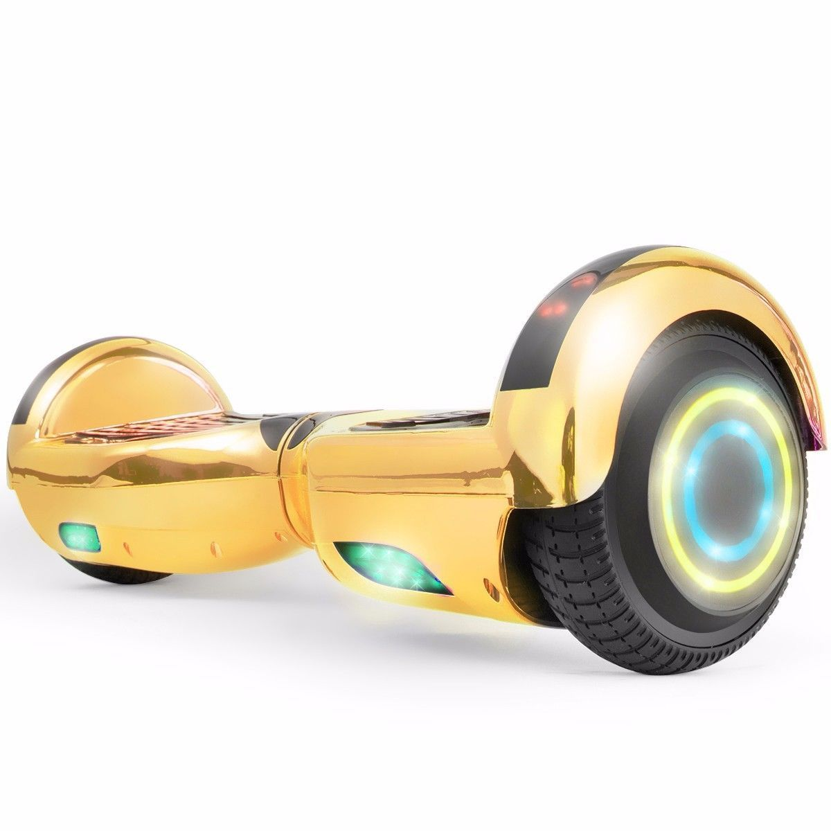 Flash Chrome Gold Bluetooth Hoverboard Two Wheel Balance Scooter UL2272