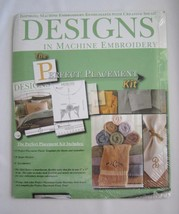 Designs In Machine Embroidery Perfect Placement Kit - $46.25