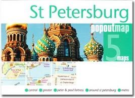 St. Petersburg Popout Map - $8.34