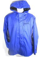 TIMBERLAND MEN'S TRUE BLUE WATERPROOF JACKET SZ L, 2XL, #58U5092