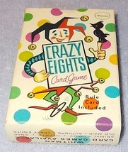 Vintage Whitman Childen's Picture Card Game Crazy Eights with Box Complete  - $8.00