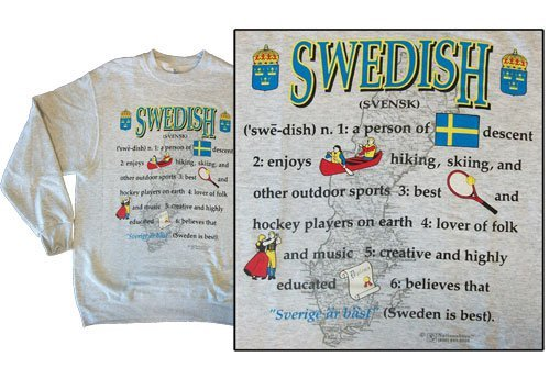 Sweden national definition sweatshirt 10250