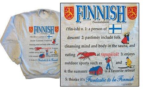 Finland national definition sweatshirt 10257