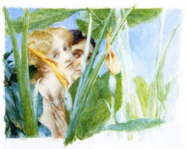 100% Hand Painted Oil on Canvas - A beautiful flowe by Alma-Tadema - 20x24 Inch - $226.71