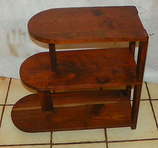 Solid Walnut 3 Tier End Table / Side Table - $199.00