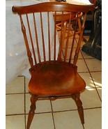 Maple Windsor Back Desk Chair / Sidechair by Ni... - $299.00