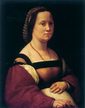 100% Hand Painted Oil on Canvas - la gravida by Raffaello - 20x24 Inch - $226.71