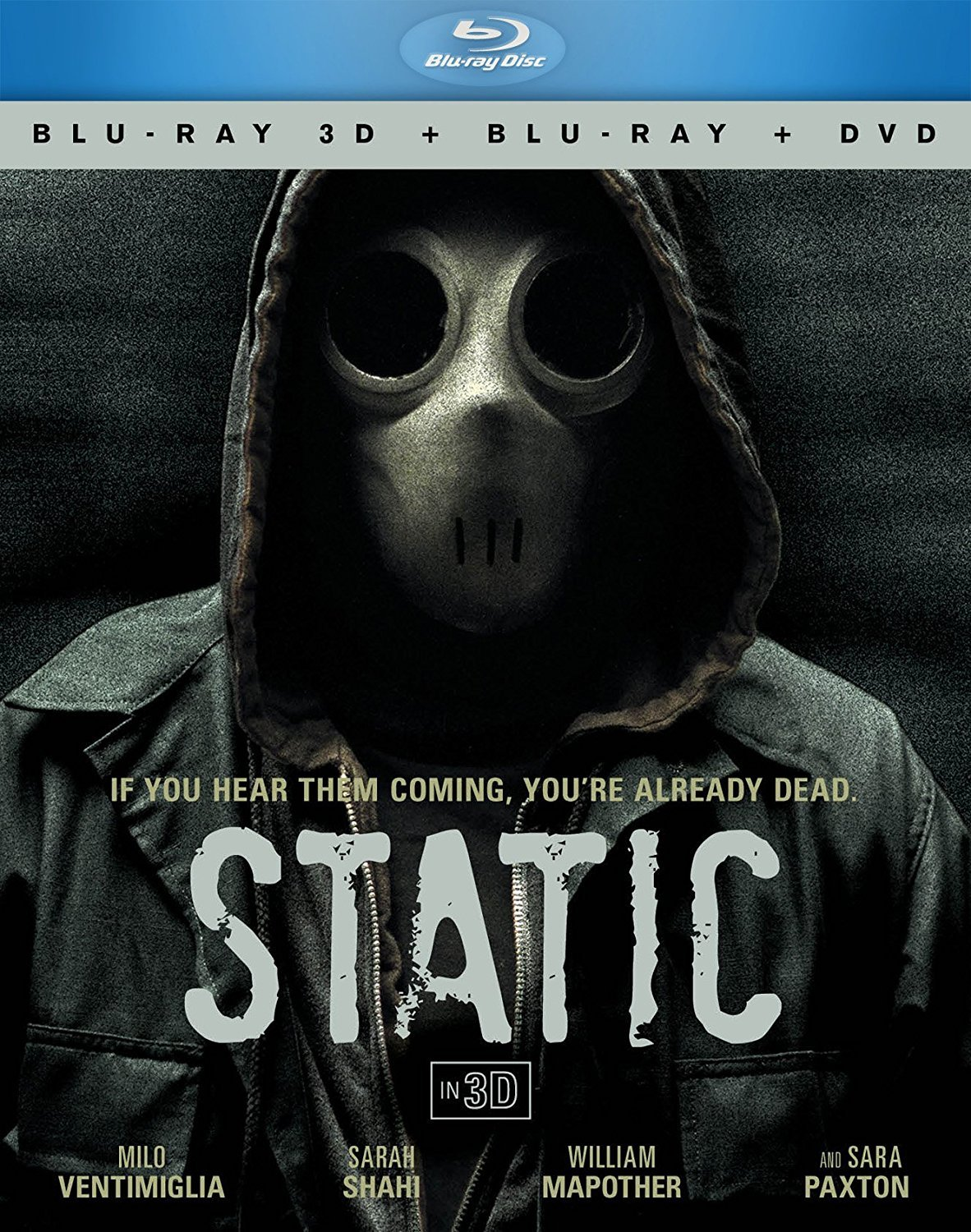 Static (Blu-ray/DVD, 2013, 3-Disc Set, 3D/2D)