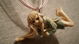 Chobits Chi Anime Persocom Charm Figure Cute  Necklace - $8.81