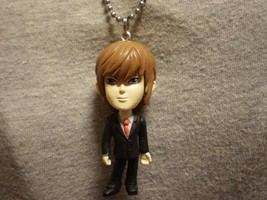 Death Note Light Figure Charm Necklace Anime Collectible Novelty Cool Jewelry - $10.77