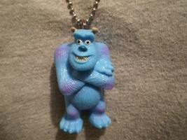 Monsters Inc Sulley Figure Charm Necklace Cool Collectible Novelty Jewelry - $9.99