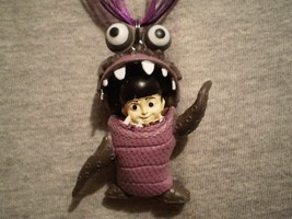 Monsters Inc Boo Figure Charm Cute Necklace Collectible Novelty Jewelry - $9.99