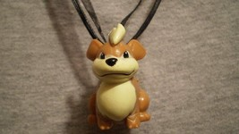 Pokemon Growlithe Dog Figure Charm Anime Cute Necklace - $8.81