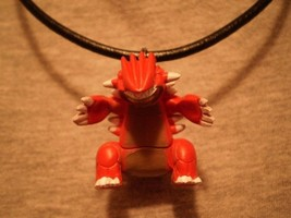 Pokemon Groudon Figure Charm Scene Anime Cool Necklace - $8.81