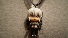 Vocaloid Haku Figure Charm Anime Necklace Collectible Cute Novelty Jewelry - $9.99
