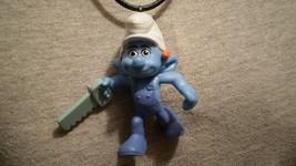 Smurfs Handy Smurf Charm Figure Cartoon Gift Necklace - $9.99