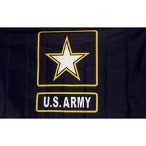 3'x5' US Army Star Flag Banner Patriotic USA Military Troops Service Vet... - $6.68