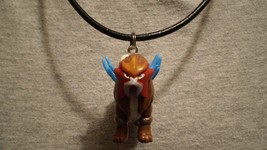 Pokemon Entei Anime Charm Figure Scene Cool Necklace Toy Jewelry Collectible - $9.99