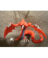 Yugioh Slyfer Sky Dragon Figure Charm Necklace Anime Collectible Jewelry - $9.79