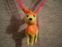 Pokemon Deerling Figure Charm Anime Scene Cute Necklace - $9.99