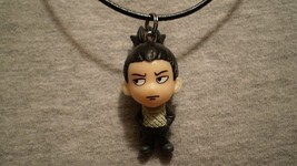 Shikamaru Nara Figure Charm Anime Collectible Naruto Necklace Cartoon Jewelry - $8.81