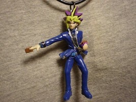 Yugioh Figure Charm Necklace Anime Collectible Cool Novelty Jewelry - $12.00