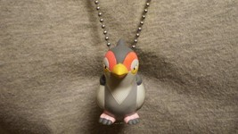 Tranquill Pokemon Figure Charm Anime Necklace Collectible Novelty Cool Jewelry - $9.79