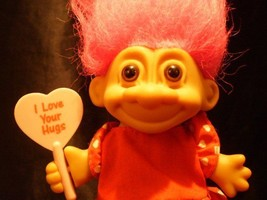 Russ Love Hugs Troll Doll Cute Kawaii Figure Gift Novelty Cool Collectible - $9.99