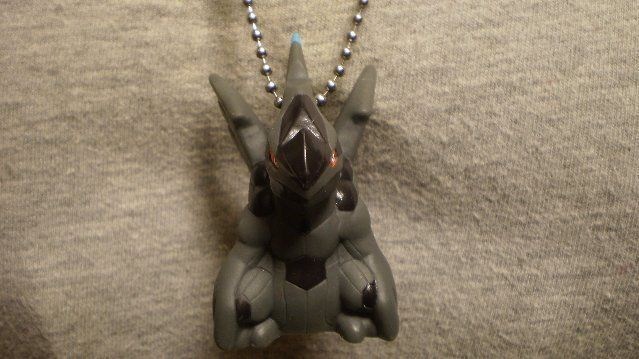 Zekrom Pokemon Figure Charm Anime Necklace Collectible Novelty Cool Jewelry