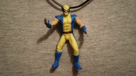 Wolverine Super Hero Figure Charm Fantasy Necklace - $9.79