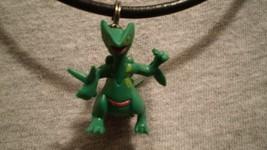 Pokemon Sceptile Figure Charm Jewelry Anime Necklace - $9.99