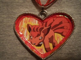 Big Gift Novelty Vulpix Pokemon Necklace Kawaii Cute Cool Anime Fox Jewelry - $14.69
