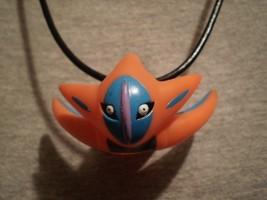Pokemon Novelty Deoxys Figure Charm Necklace Anime Cool Alien Gift Jewelry - $8.81
