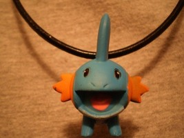 Pokemon Mudkip Figure Charm Scene Anime Cute Necklace - $9.79