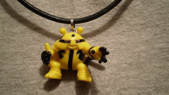 Pokemon Electivire Charm Figure Scene Anime Necklace