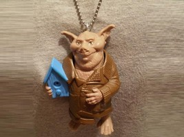 Big Spiderwick Chronicles Hogsqueal Pig Figure Charm Necklace Cool Jewelry - $9.79