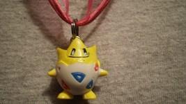 Pokemon Togepi Anime Cute Charm Figure Scene Necklace - $9.79