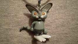Hopper Cat Monster Rancher Figure Anime Bolt Necklace Gamer Jewelry Gift Toy - $8.81