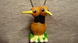 Doduo Pokemon Bird Figure Charm Anime Necklace Cool Novelty Collectible Jewelry - $9.99