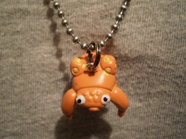 Pokemon Paras Crab Figure Charm Anime Kawaii Necklace Cute Collectible Jewelry - $7.83
