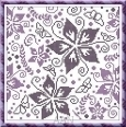 Little Purple cross stitch chart Alessandra Adelaide Needleworks