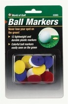 Golf Ball Finders Golf Ball Spotters Multicolor Pack of 12 Golf Ball Markers Gif - $8.02