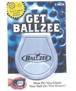 BALLZEE 2 piece BLISTER PACK Clean Golf Ball on the Green Golf tools Acc... - $9.36