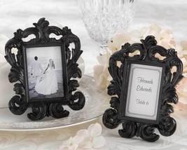 12 Black Baroque Place Card Holders Wedding Placecard Holders Wedding Fa... - €21,25 EUR