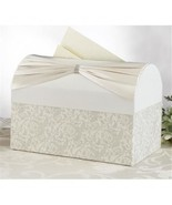 Wedding Card Box Ivory Rhinestone Sash Wedding Gift Card Box M...