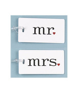 Mr and Mrs Luggage Tags Honeymoon Gifts - Set of 2 - $16.04