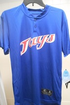 "Easton ""Jays"" Baseball Jersey Men's Size S, M & L, Bio-Dri Royal Blue 2 ... - $14.99"