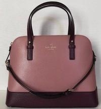 New Kate Spade small Rachelle Grand Street Colorblock Leather handbag Dusty Pink - $119.00