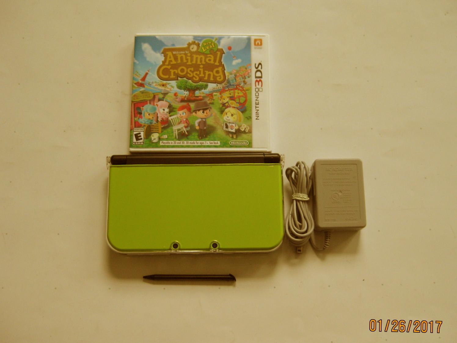 Primary image for Nintendo New 3ds xl   (Lime  Green) w Animal Crossing & More!!!